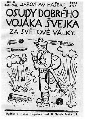 The Good Soldier Švejk by Jaroslav Hasek is the best known Czech book